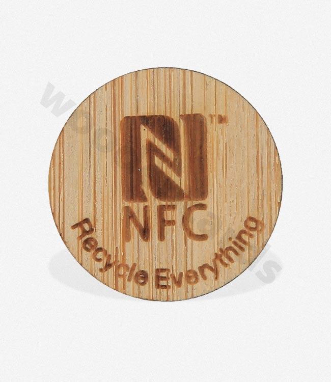 Wooden NFC Card